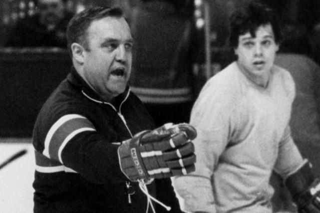 À l'époque où il dirigeait le Canadien,Claude Ruel... (Photo archives PC)