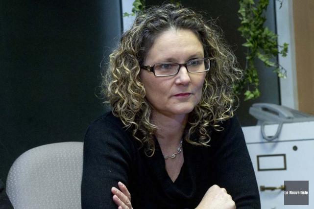 Nicole Poirier, de la Maison Carpe Diem, veut... (Photo: Stéphane Lessard, Le Nouvelliste)