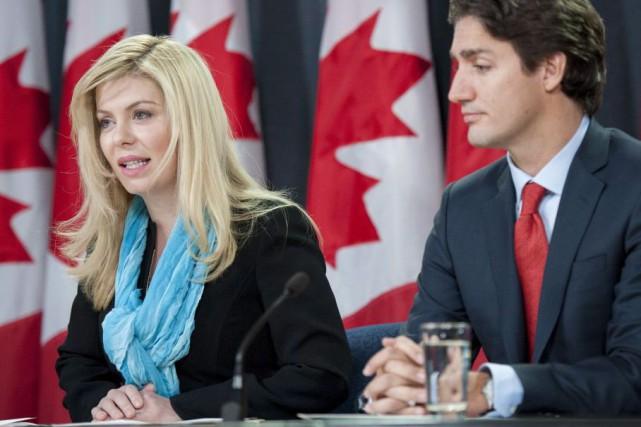 La députée Eve Adams annonce sa décision de... (La Presse Canadienne, Justin Tang)