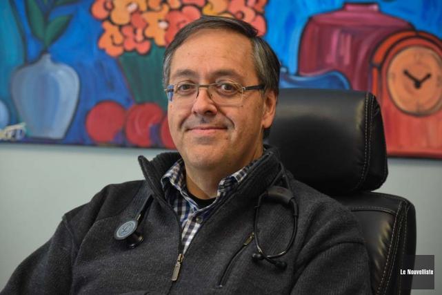 Le Dr Pierre Martin, président de la Fédération... (Photo: François Gervais, Le Nouvelliste)