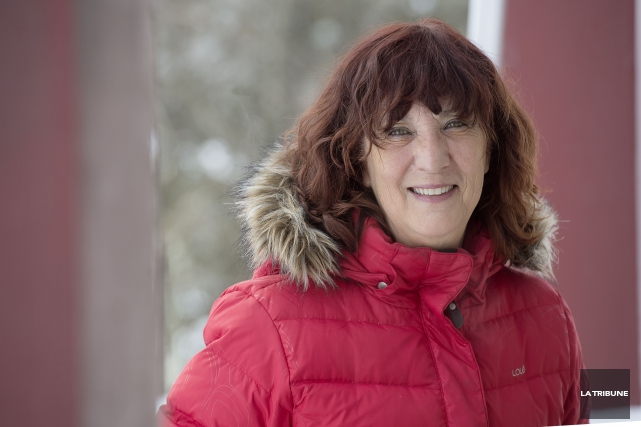 Diane Goyette... (Imacom, Frédéric Côté)