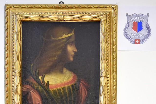 Le portrait d'Isabelle D'Este, une noble de la... (PHOTO AP)