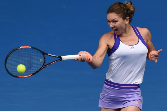 La Roumaine Simona Halep... (Photo Manan Vatsyayana, AFP)