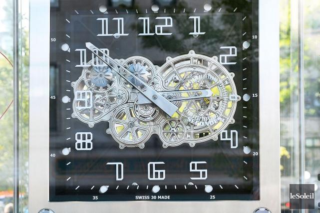 La maison d'horlogerie Richard Mille avait dû concevoir... (Photo Le Soleil, Jean-Marie Villeneuve)