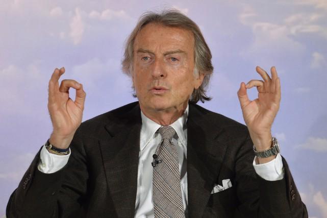 L'ancien président de Ferrari, Luca Cordero Di Montezemolo.... (Photo Andreas Solaro, AFP)