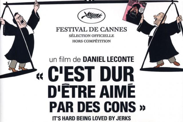 Le documentaire C'est dur d'être aimé par des cons(2008), sur le... (ILLUSTRATION FOURNIE PAR LA PRODUCTION)