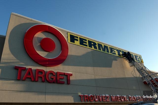 En janvier, Target a annoncé qu'il quittait le... (Photothèque Le Soleil, Erick Labbé)