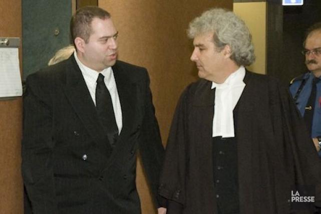 Le policier Roberto Sforza (à gauche) en 2008.... (Photo David Boily, Archives La Presse)