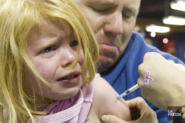 Les études liant les vaccins contre la rougeole,... (Archives La Presse)