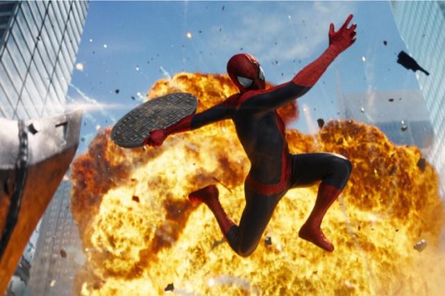 Andrew Garfield dansThe Amazing Spider-Man 2.... (Columbia Pictures)