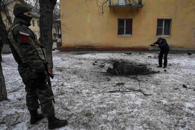 Sur le terrain, les violences se sont propagées... (Photo: Reuters)