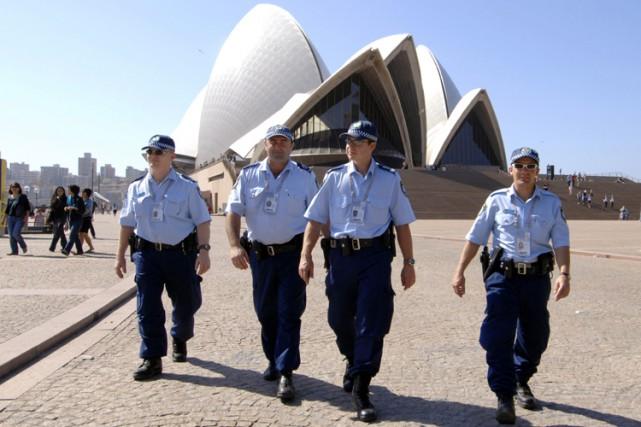 L'Australie est vigilante depuis des mois devant la... (Archives AFP)