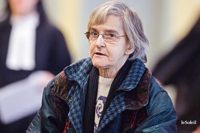 Héloïse Chartier, 68 ans, avait enflammé le matelas... (Le Soleil, Patrice Laroche)