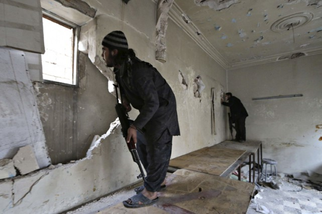 La majorité descombattants étrangersvont rejoindre les rangs du... (Archives Reuters)