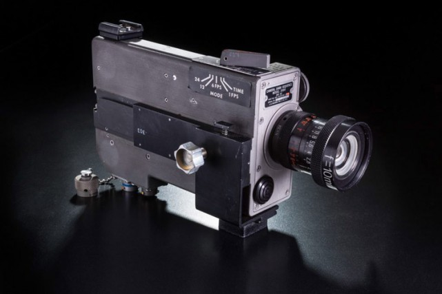 Une caméra 16 mm qui se trouvait dans... (Photo: AP)