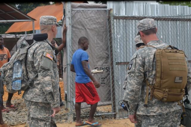 Une centaine de militaires américains «maintiendront une présence... (Photo: AFP)