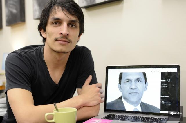Paolo Almario se bat pour la liberté de... ((Photo Le Quotidien, Jeannot Lévesque))