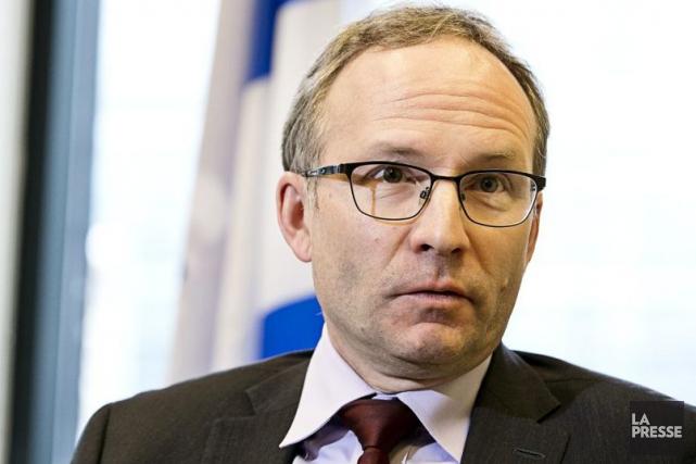 Le président du Conseil du trésor Martin Coiteux... (Photothèque La Presse)