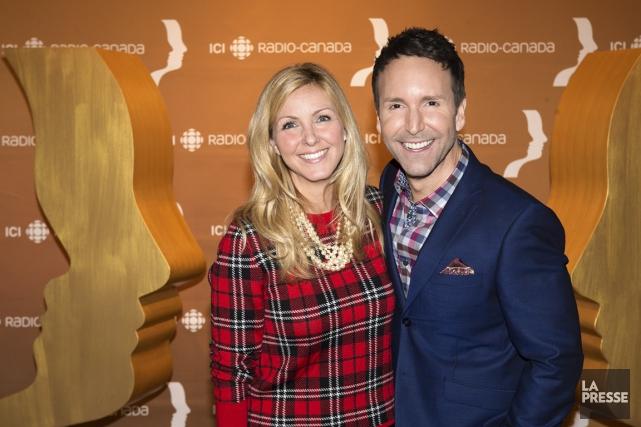Deux des personnalités les plus aimées des Québécois,... (PHOTO ROBERT SKINNER, LA PRESSE)