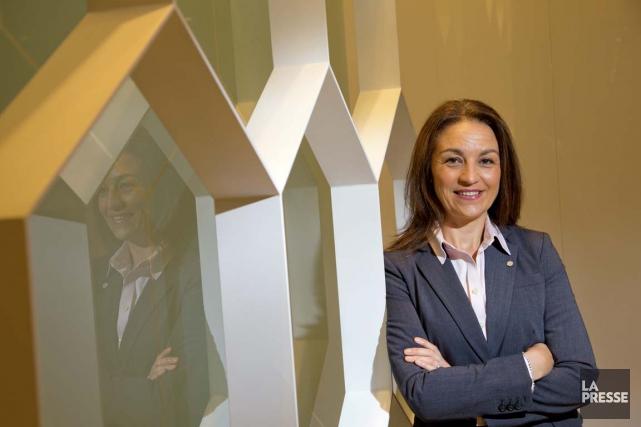 Angela Iermieri, planificatrice financière au Mouvement Desjardins.... (PHOTO ALAIN ROBERGE, LA PRESSE)