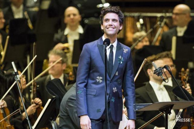 Au spectacle de Mika et de l'OSM, hier... (PHOTO EDOUARD PLANTE-FRÉCHETTE, LA PRESSE)
