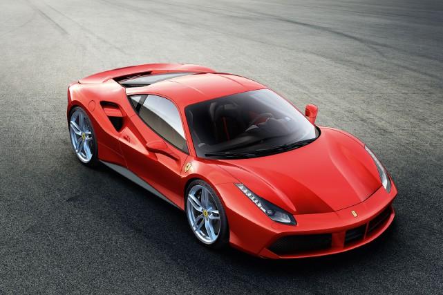 La nouvelle Ferrari 488 GTB sera présentée au... (Photo fournie par Ferrari)