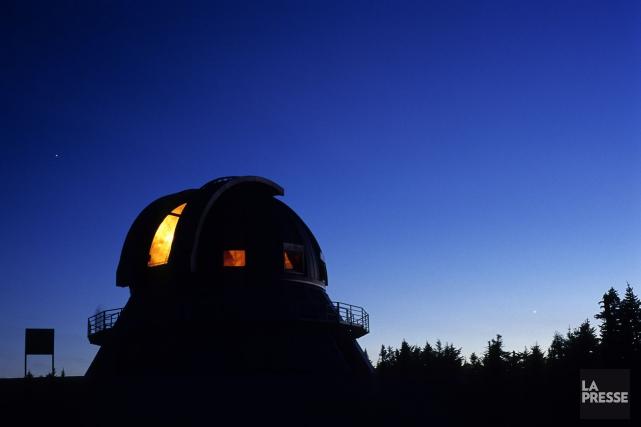 L'unique observatoire scientifique universitaire du Canada va devoir fermer ses... (Archives La Presse)