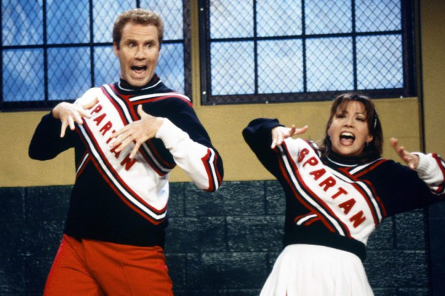 Will Ferrell et Cheri Oteri dans un épisode... (Photo Mary Ellen Matthews, Archives AP / NBC)