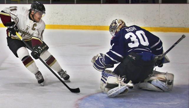 Le Sherbrookois Olivier Hinse connaît énormément de succès... (Photo Stingers de l'Université Concordia)