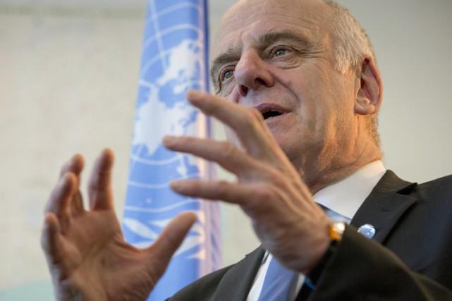 Le Dr DavidNabarro «espère vraiment» voir l'éradication d'Ebola... (Photo: Reuters)