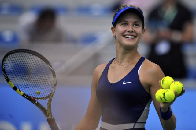 Eugenie Bouchard... (Photo: AP)