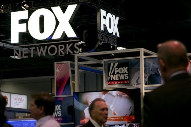 Une firme d'avocats qui représente Fox News a... (Photo Andrew Harrer, Bloomberg)