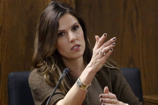 Taya Kyle, l'épouse de Chris Kyle, a été... (Photo: AP)