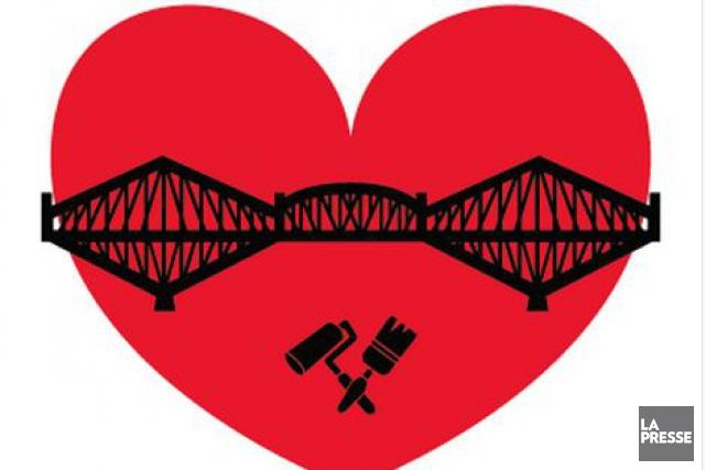 Le couple à l'origine du mouvement citoyen #PaintYourBridgeBill... (Image tirée de Facebook)