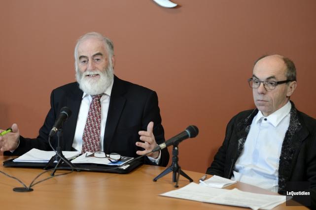 L'ancien maire de Lebel-sur-Quévillon et porte-parole de Touche... ((Photo le Quotidien, Laura Lévesque))