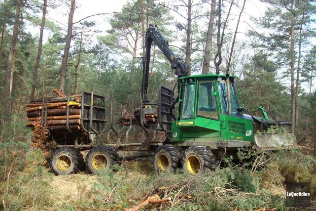 L'industrie forestière et le gouvernement signent une entente... ((Archives Le Quotidien))