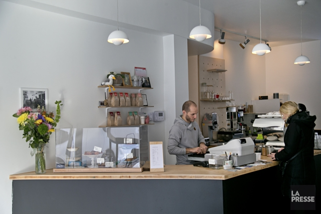 Le Café 8 oz. est le projet d'un... (PHOTO DAVID BOILY, LA PRESSE)