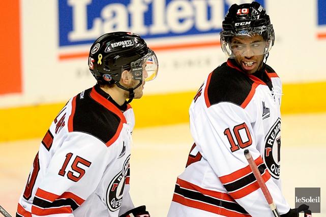 Anthony Duclair (à droite) ratera le match de... (Photothèque Le Soleil, Erick Labbé)