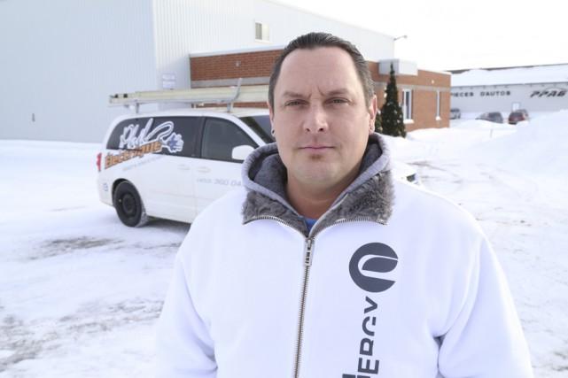 Un deuxième promoteur, le propriétaire de l'entreprise Phil... (photo Janick Marois)