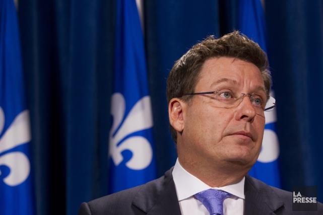 Le ministre des Affaires municipales, Pierre Moreau.... (PHOTO IVANOH DEMERS, ARCHIVES LA PRESSE)