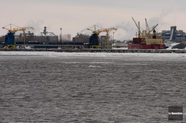 Le port de Bécancour ferait partie des options... (Photo: François Gervais, Le Nouvelliste)