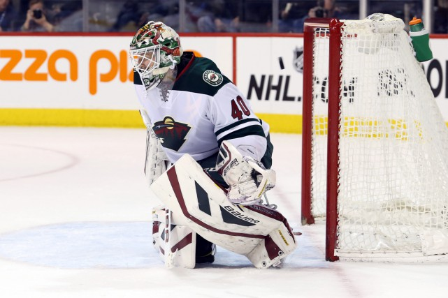 Devan Dubnyk a récolté quatre blanchissages à ses... (Photo Bruce Fedyck, USA Today Sports)