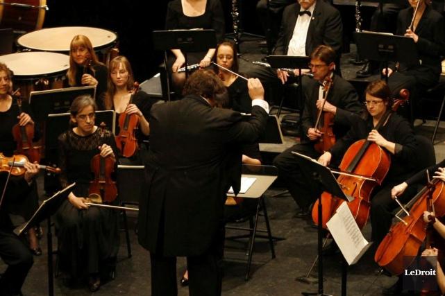 Touché par les flèches de la Saint-Valentin, l'Orchestre symphonique de... (LeDroit)