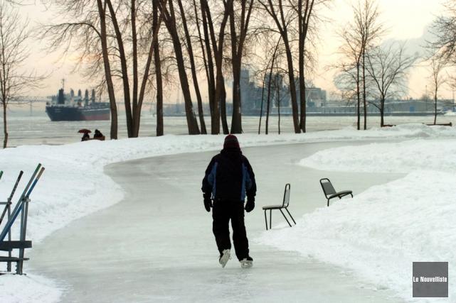 Le parc de l'île Saint-Quentin a maintenant un... (Photo d'archives: Stéphane Lessard, Le Nouvelliste)
