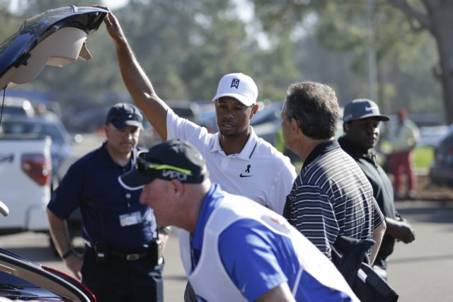 Tiger Woods a ramené la pire carte de... (Agence France-Presse)