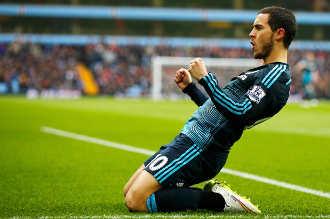 Eden Hazard... (Photo Darren Staples, Reuters)