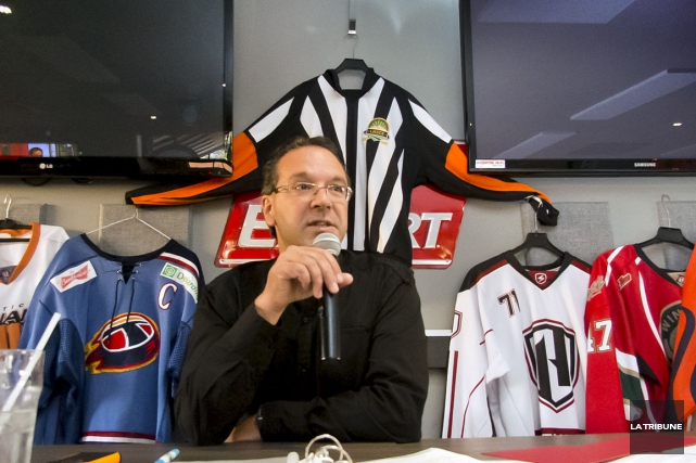 Daniel Bergeron... (Archives La Tribune, Jocelyn Riendeau)