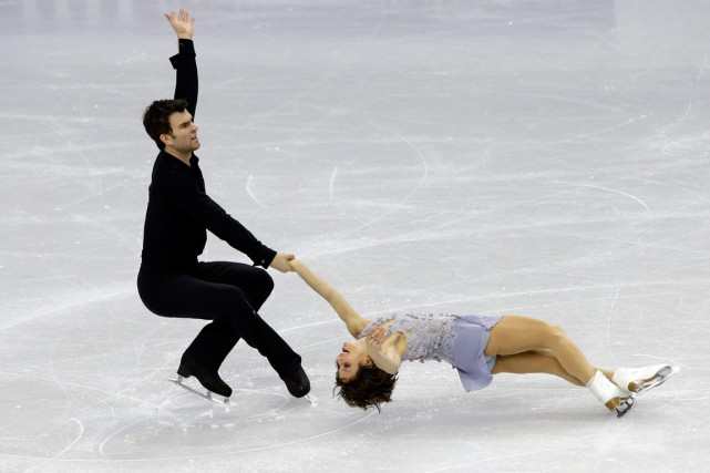 Eric Radford et Meagan Duhamel... (Photo Lee Jin-man, AP)