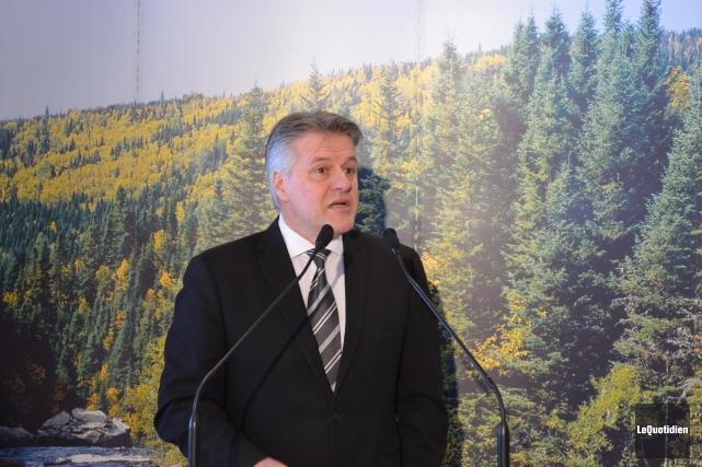 Le ministre québécois de la Forêt et de... (Archives Le Quotidien)