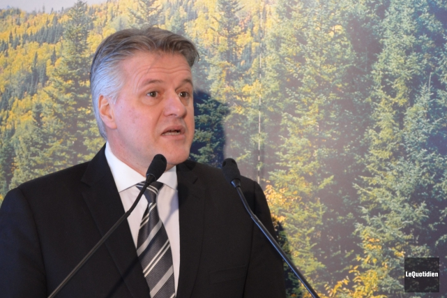 Le ministre des Forêts et de la Faune... (Archives Le Quotidien)